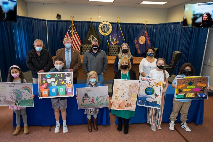 Earth Day Poster Contest Winners Recognized for Research and Creativity