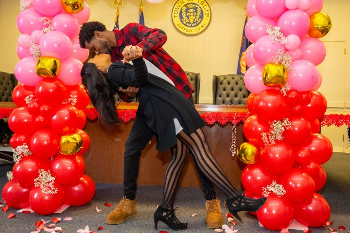 Valentine's Day Weddings at Islip Town Hall