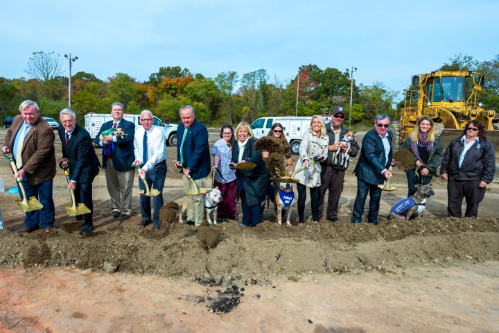 The Town of Islip Breaks Ground On New Animal Shelter
