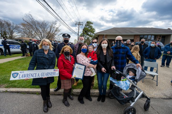 Street Renamed in Islip Terrace for Fallen Hero Lawrence Guarnieri