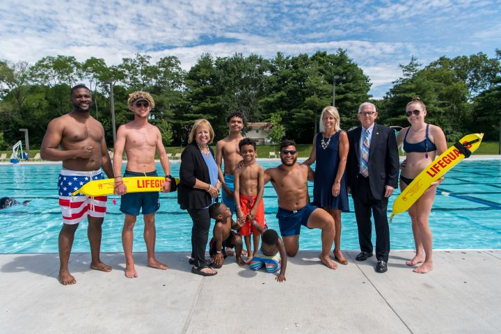 Pool Safety Press Conference at Roberto Clemente Park