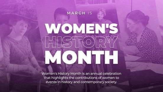 womens history graphic