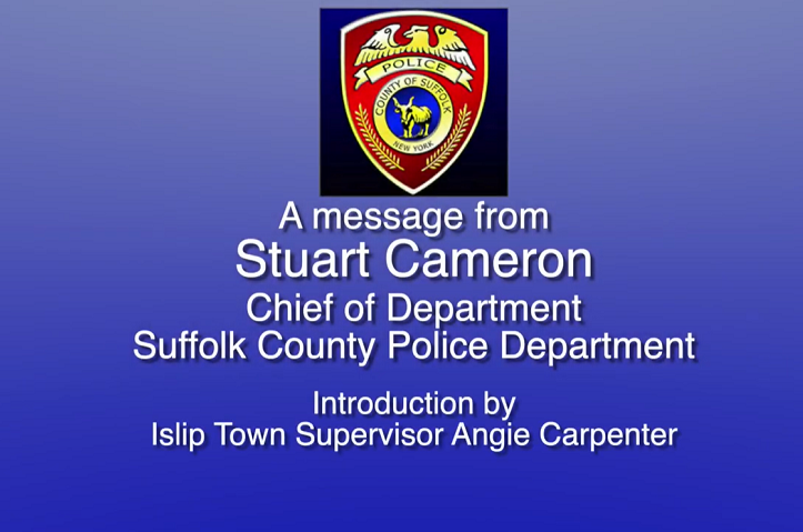 Message from SCPD Chief of Department Stuart Cameron
